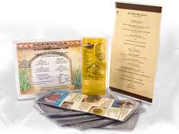 menu covers wholesale clear menu sleeves wholesale foodservice packaging