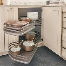 what is a blind corner kitchen cabinet rev a shelf the cloud gray blind corner 21 left 5372 21 fog l