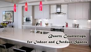 Quartz Countertops For Outdoor Kitchens - quartz countertops for indoor and outdoor spaces