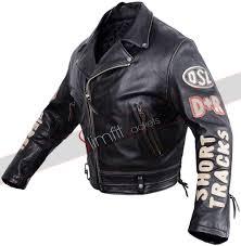 black motorcycle jacket mens vintage men u0027s black biker patches jacket