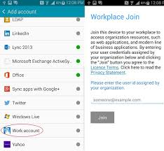 microsoft access for android microsoft adds workplace join support for android devices