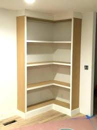coffin bookshelf l shaped bookcase l shaped pantry one wall shelves corner shelf