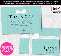 bridal shower thank you cards metro events metro events