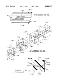 patent us5848837 integrally formed linear light strip with light