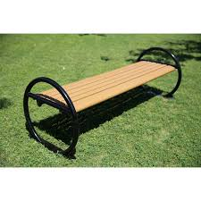 wood plastic composite park bench china outdoor wood plastic
