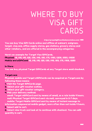 where to buy gift cards online where to buy visa gift cards online and offline 2018 prepaid