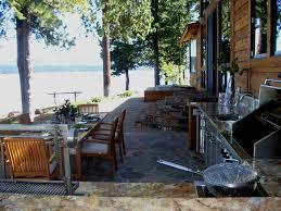 Outdoor Kitchen Faucet Lake Almanor Outdoor Kitchen Schlosser Newberger Architects