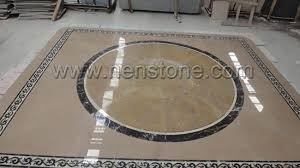 marble floor medallions borders from china