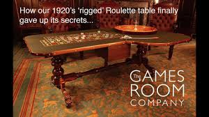 how the games room company u0027s 1920 u0027s u0027rigged u0027 roulette table