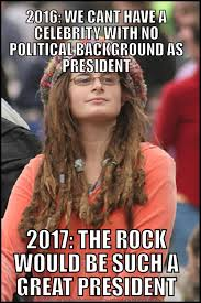 Reddit Meme Maker - when i hear that the rock is actually considering a presidential run