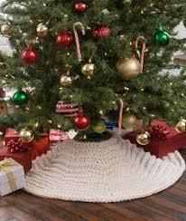 vintage crochet tree skirt tree skirts