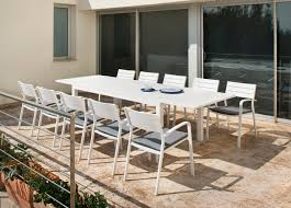 miami extendable dining table patio furniture outdoor