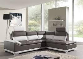 canape cuir blanc et gris photos canapé d angle cuir gris et blanc