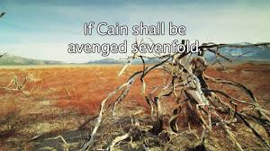 genesis 4 24 if cain shall be avenged sevenfold truly lamech