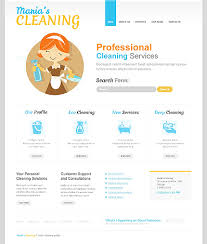 House Cleaning Estimate Form by Website Templates Maintenance Services Cleaning Company Services