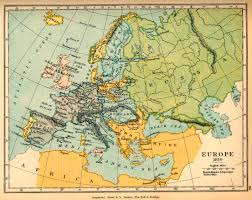 Historical Maps Of Europe by Europe In 1810