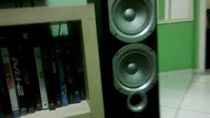 true sound home theater pioneer vsx 1121 infinity p363 youtube