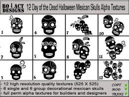 second marketplace ro act designs 12 day of the dead