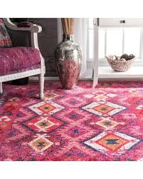 Pink Area Rug 5x8 Find The Best Deals On Nuloom Tribal Mayola Ahsh03a Pink Area Rug
