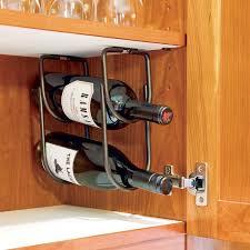 rev a shelf under cabi wine bottle rack 3250 series rockler under