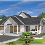 Kerala Home Design October Single Floor Kerala House Plan Home Design Plans Architecture
