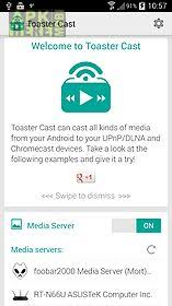 android dlna toaster cast dlna upnp player for android free at apk