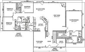 open concept ranch floor plans cottonwood by wardcraft homes ranch floorplan