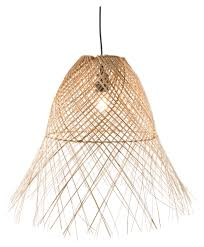 Wicker Pendant Light by Coco Wicker Weave Pendant Light Temple U0026 Webster