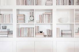 luxury white bookcase with doors white bookcase with doors