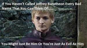 Joffrey Meme - vh joffrey game of thrones meme