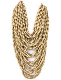 wood beaded necklace images Mona island layered wood bead necklace erika pe a jpeg