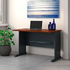 bush series a desk amazon com bush business furniture series a 48w desk in hansen