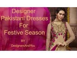 pakistani dresses designs latest designer pakistani party wear suit u2026