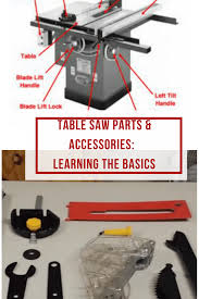 Ridgid Table Saw Parts Table Saw Parts And Accessories Learning The Basics Is Important