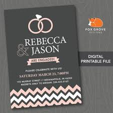 Invitation Printing Services Printable Engagement Party Invitation