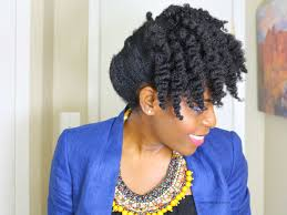 quick and easy updo for natural hair veepeejay