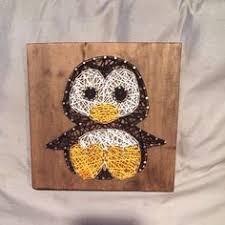penguin string art website pins pinterest string art