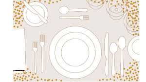 Proper Table Setting by Table Setting Template Download Now Steven And Chris