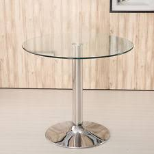 Tall Glass Table Glass Bistro Table Ebay