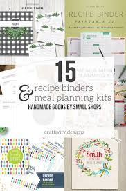 menu planners templates 15 fantastic recipe binder templates and menu planning kits in the market for a recipe binder or meal planning kit check out 15 fantastic