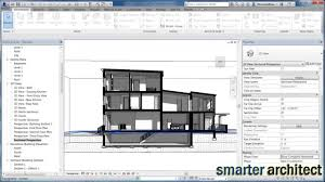 revit tutorial creating a section presentation drawing in less