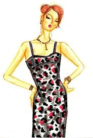 very wendy los angeles u0027 best fashion illustrator live sketch artist