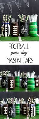 football party decorations football party jars jar crafts