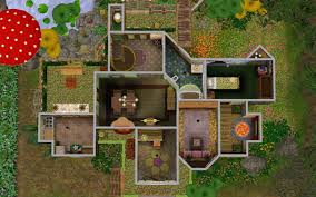 Fairy House Plans Fairy Sims 3 House Plans Home Array
