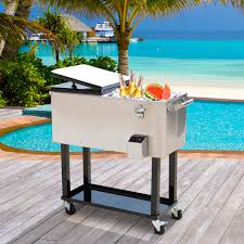 Patio Furniture Ideas by Furniture Stunning Design Of Patio Cooler Cart For Cool Outdoor