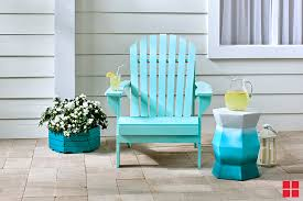 spray painted adirondack chair