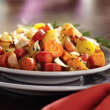 Fall Root Vegetables - roasted fall root vegetables
