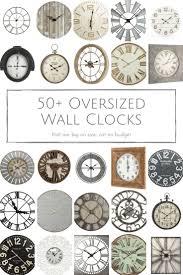clock made of clocks best 25 oversized wall clocks ideas on pinterest wall clocks
