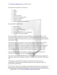 Adjectives To Use In Resume A Professional Approach To Resumes And Cover Letters