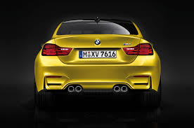 Bmw M3 Back - crooked m4 logo normal